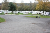 Carvans at Margrove Park Holidays camp site