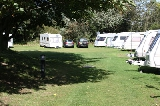 Caravans at Margrove Park Holidays camp site